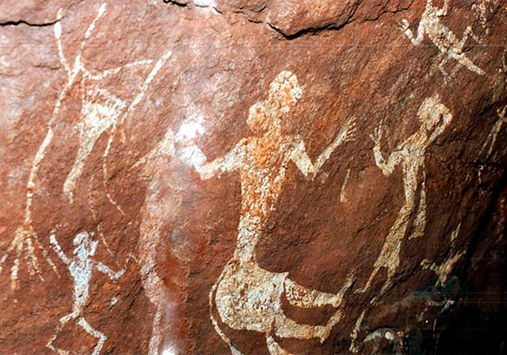Indian Rock Art Themes In Pachmarhi Petroglyphs
