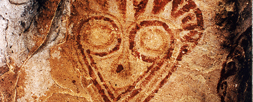 Bolivian Rock Art Bolivia Prehistoric Petroglyphs Cave Paintings