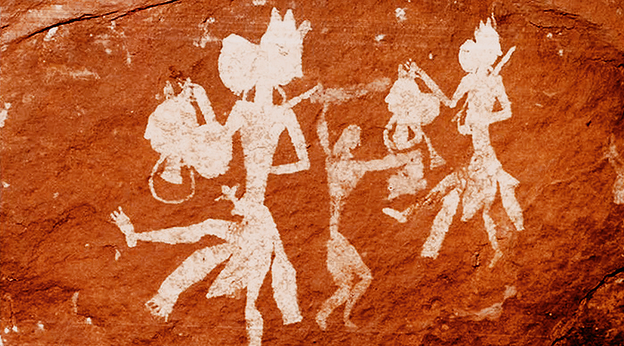 India Rock Art Archive Indian Prehistoric Rock Art Paintings