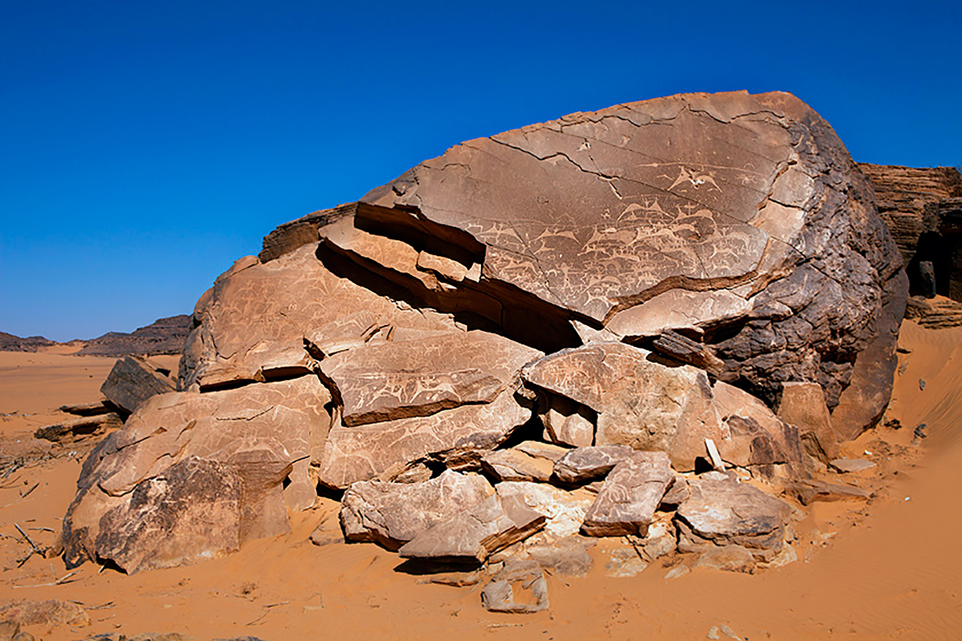 The rock art of saudi arabia open air sanctuaries