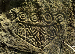 Santinho Mask Rock Art Petroglyph Santa Catarina