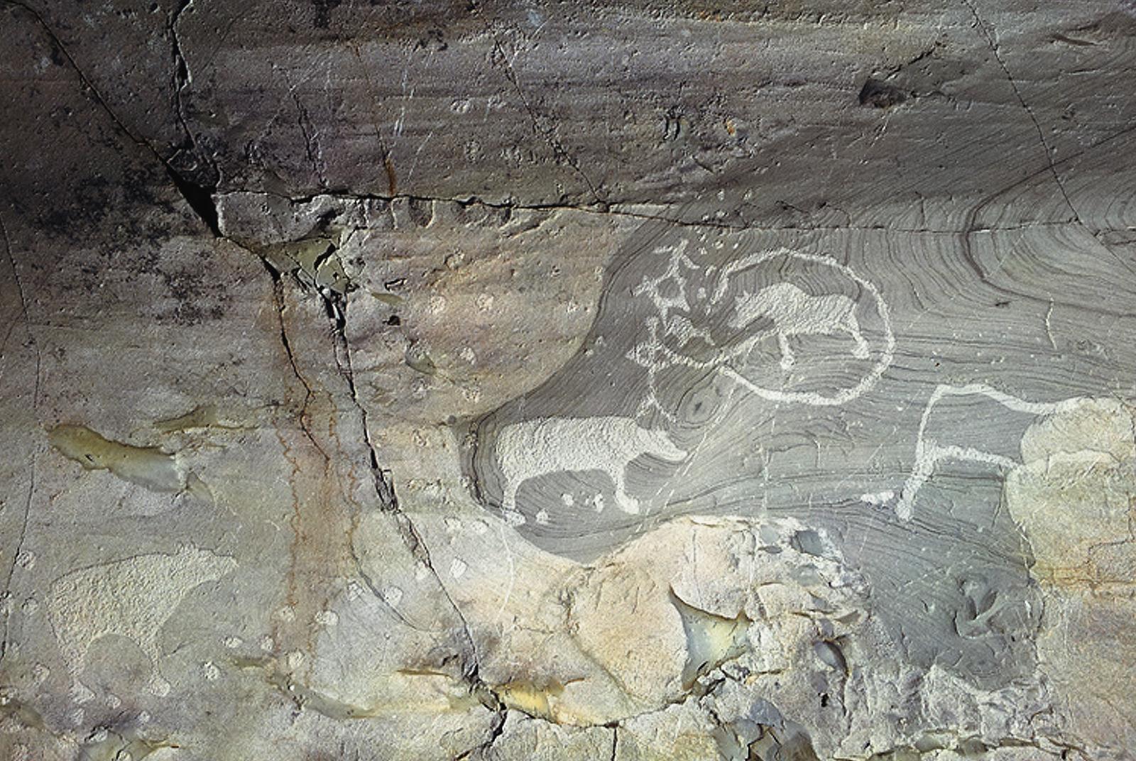 Alta prehistoric rock carving alta norway stock photo edit now