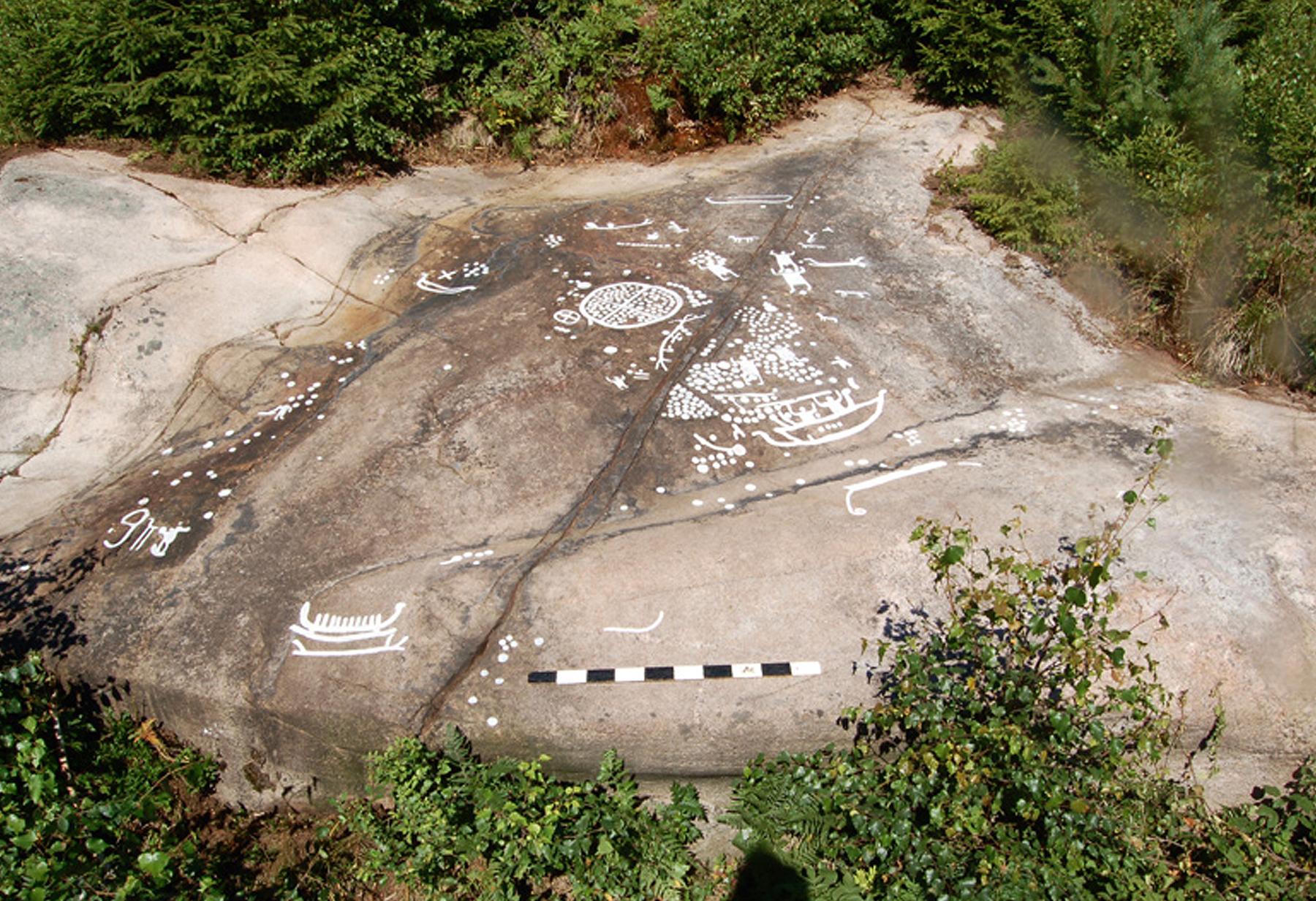 Gallery of tanum rock art
