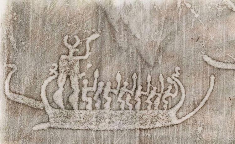 Tanum rock art museum scandinavian prehistoric