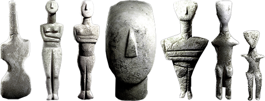 a comparison of venus of willendorf and cycladic figures The majority of venus figurines are relatively small, portable objects (eg,  14  compared to the willendorf venus, (34) = 579, (figure 5.