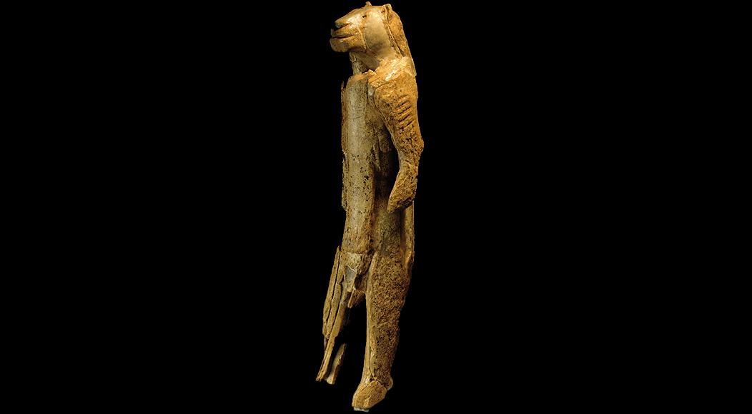 Lion Man Cave Art : Lion man