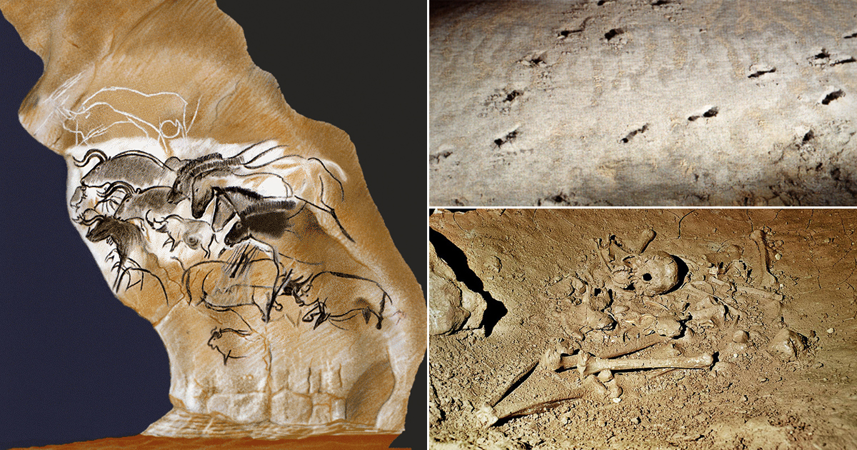 The Paleolithic Cave Art of France - Human & Animal Activities