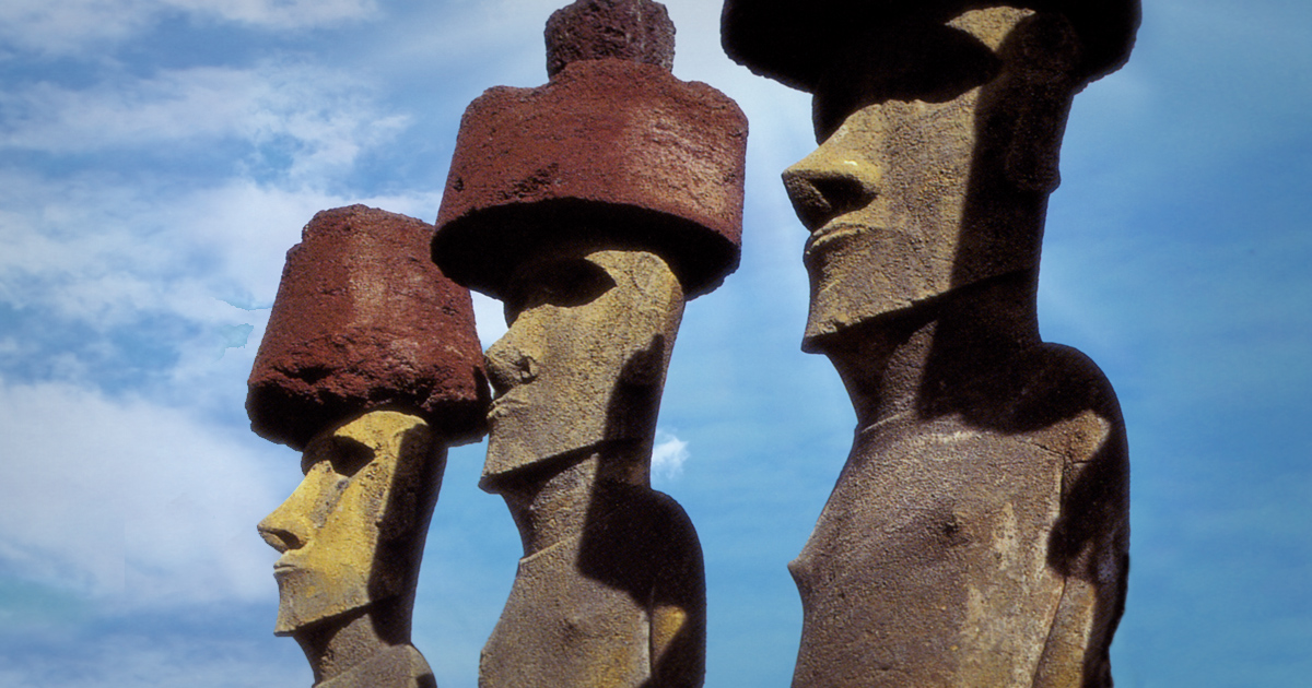 the easter islanders rise and fall essay The mystery of easter island although fragmentary legends have been passed down, only science can hope to explain the rise and fall of this unusual civilisation.